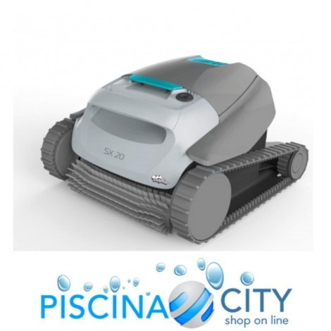 ROBOT PULITORE PISCINA DOLPHIN SX 20 BY MAYTRONICS