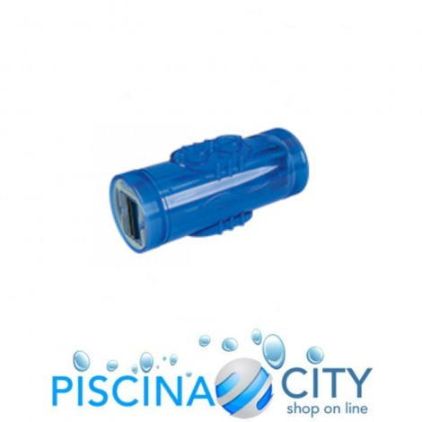 RICAMBIO ELETTRODO CELLA BLU CENTRALINA SALE AQUALINE POOLSALT DUO - 9 PIASTRE - 200 MC