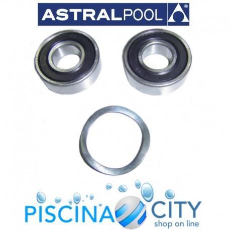 ASTRALPOOL 4405010136 CUSCINETTO MOTORE 1,5 HP - 3 HP ASTRAL