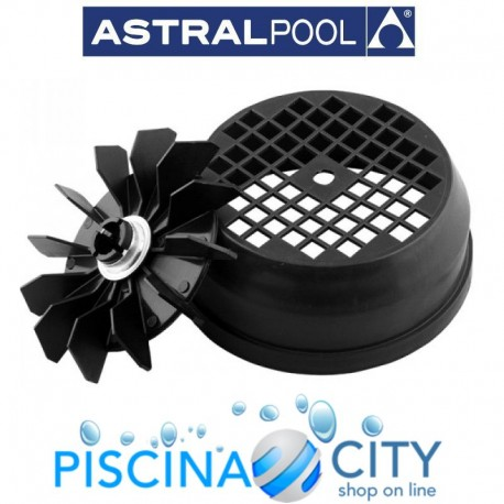 ASTRALPOOL 4405010148 KIT VENTOLA-COPRIVENTOLA 1,5 - 2 - 3 HP II ASTRAL