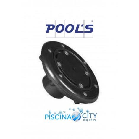 POOL'S 0141517 NERA BOCCHETTA A PAVIMENTO PISCINE LINER IN PVC