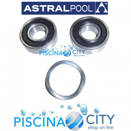 ASTRALPOOL 4405010171 CUSCINETTO MOTORE 6205 2RS 3,5HP ASTRAL
