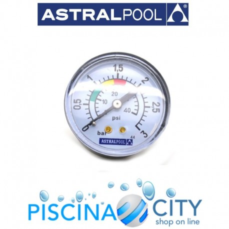 ASTRALPOOL 4404010103 MANOMETRO FILTRO ASTRAL