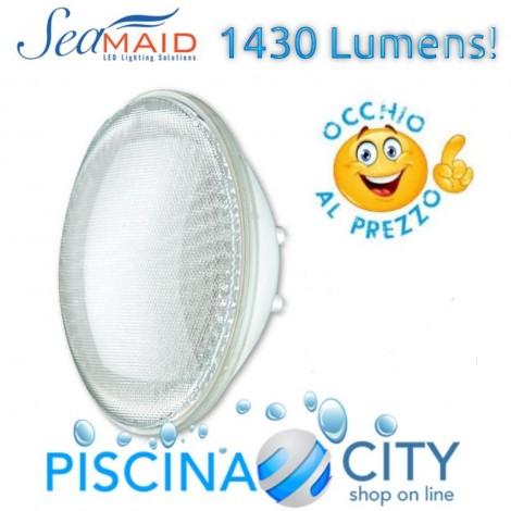 SEAMAID LAMPADA LED LUCE BIANCA PAR 56 1430 LUMEN 16W