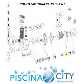 ASTRALPOOL 4405010612 COPERCHIO MOTORE MEC. C.71 C/CASSIERA D35 POMPA