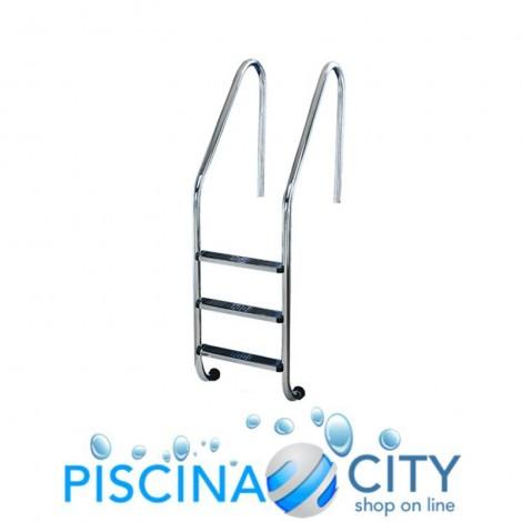SCALA STD ACCIAIO INOX 316 2 GRADINI