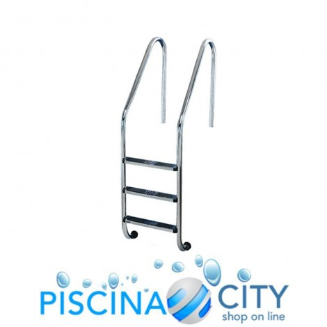 SCALA STD ACCIAIO INOX 316 3 GRADINI