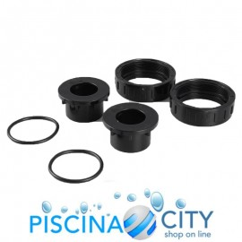 KIT RACCORDI POMPA KS KRIPSOL + O-RING DIAMETRO 63