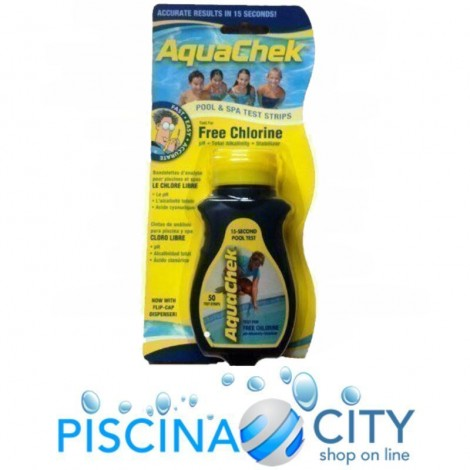 ASTRALPOOL 11732 TEST KIT PISCINA A STRISCE 4 PARAMETRI
