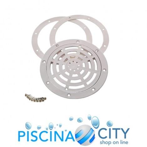 POOL'S 1115049 KIT COMPLETO SCARICO DI FONDO PER PISCINE CEMENTO E PVC
